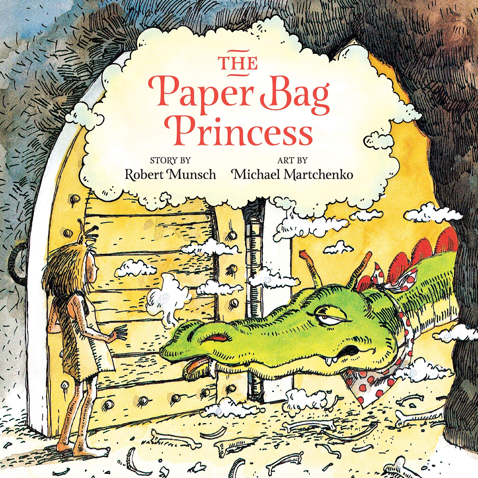 The Paper Bag Princess (unabridged): Munsch, Robert, Martchenko, Michael:  9781773214054: Books - Amazon.ca
