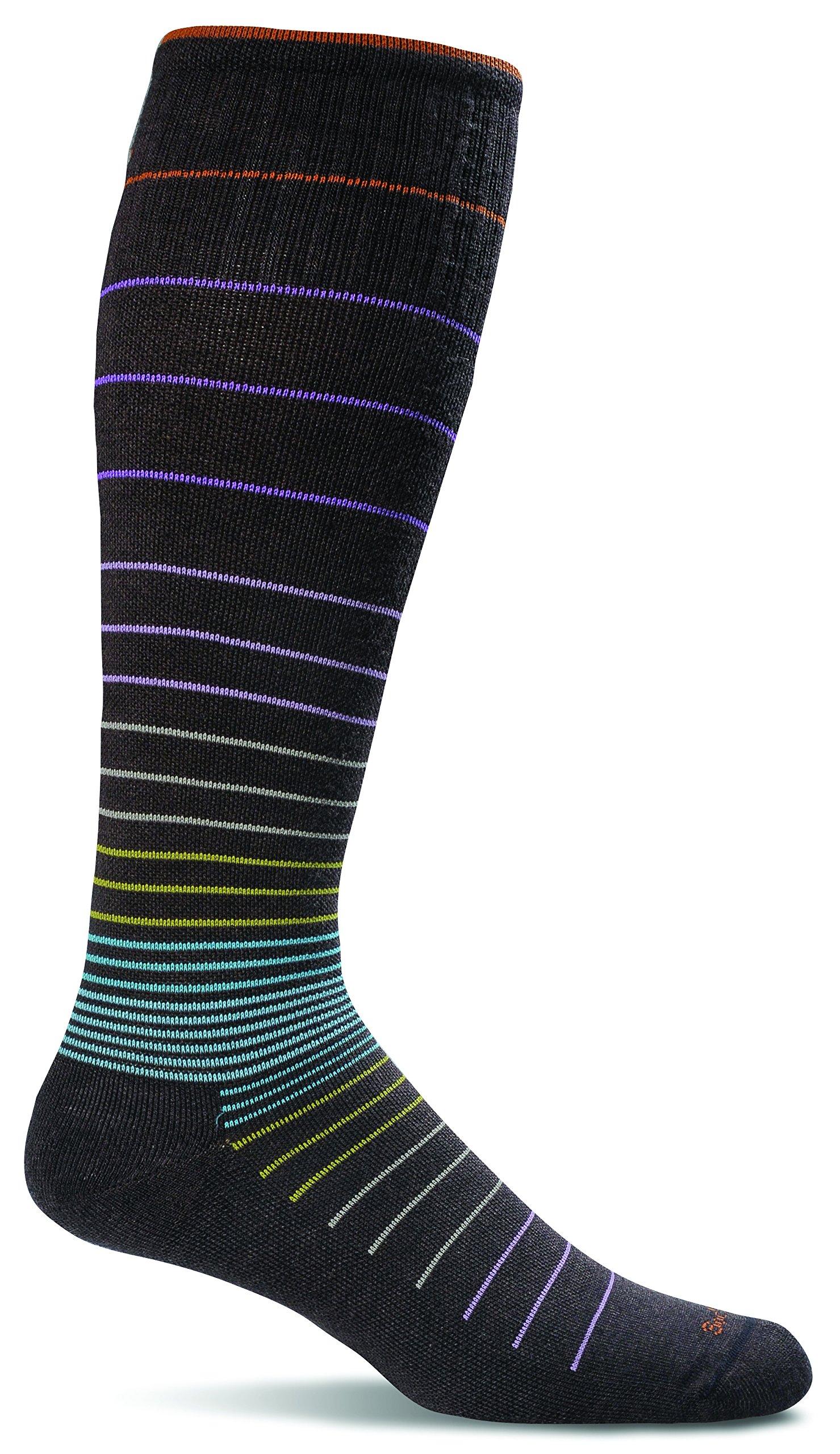Sockwell Women's Circulator Graduated Compression Socks, Small/Medium (4-7.5), Espresso