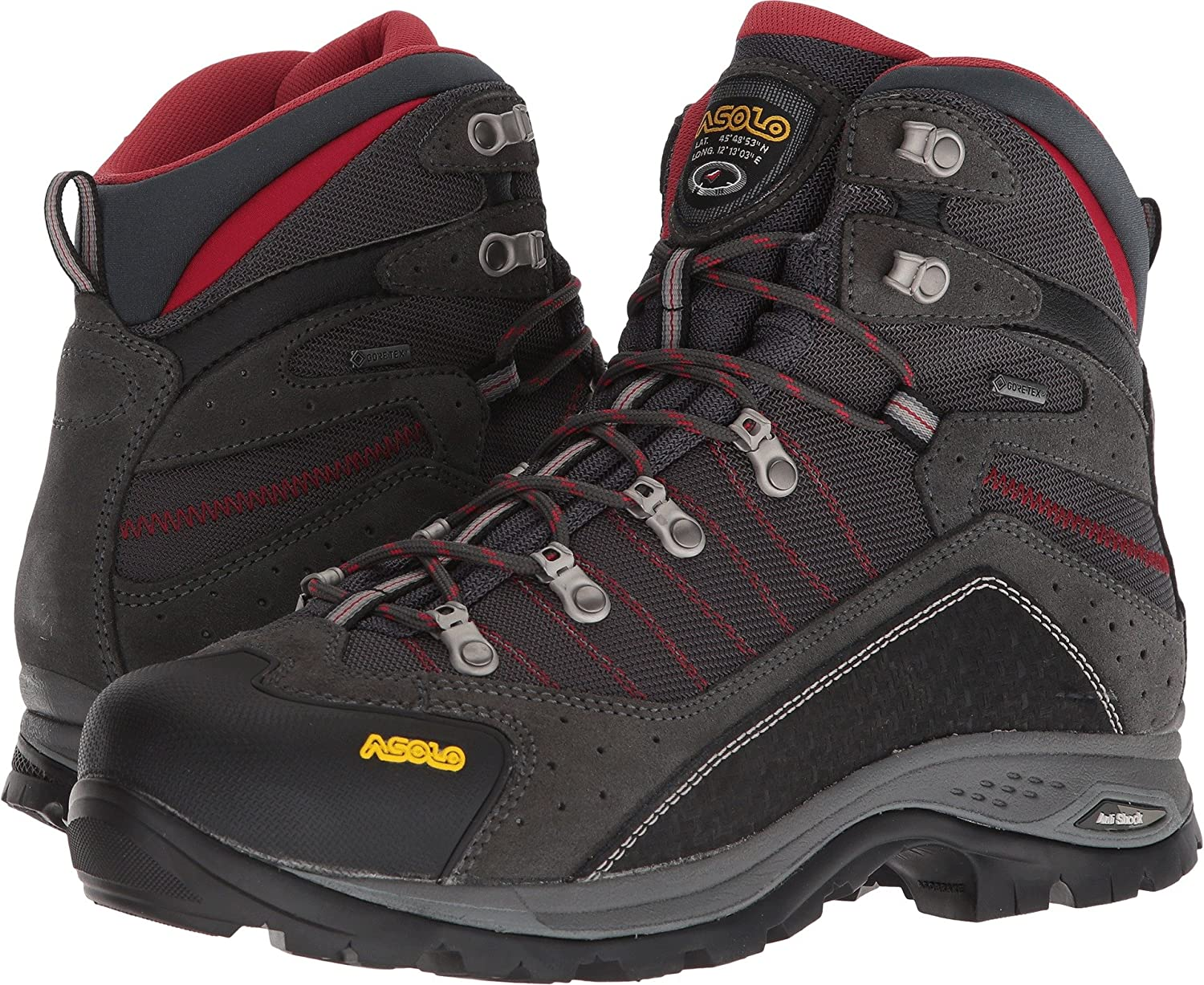 Asolo Men''s Drifter Gv Evo Mm High Rise Hiking Shoes A23104
