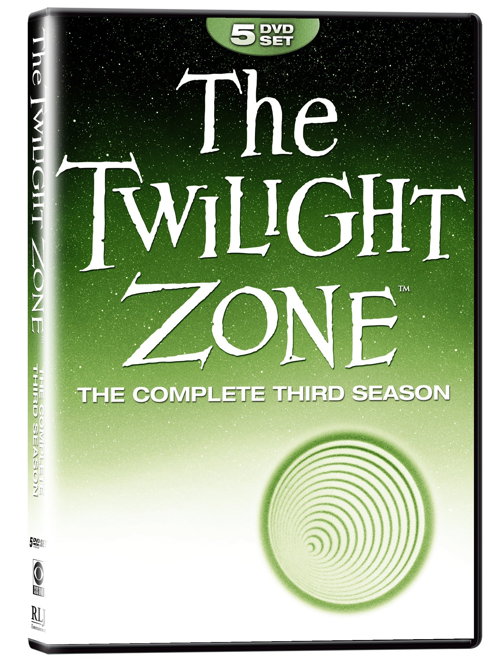 DVD : The Twilight Zone: The Complete Third Season (DVD)