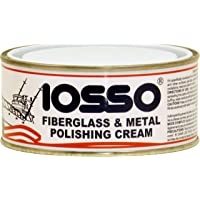 Iosso Fiberglass & Metal Polish, Pasta Lucidante per vetroresina e metalli, 250 ml