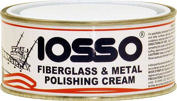 11 opinioni per Iosso Fiberglass & Metal Polish, Pasta Lucidante per vetroresina e metalli, 250