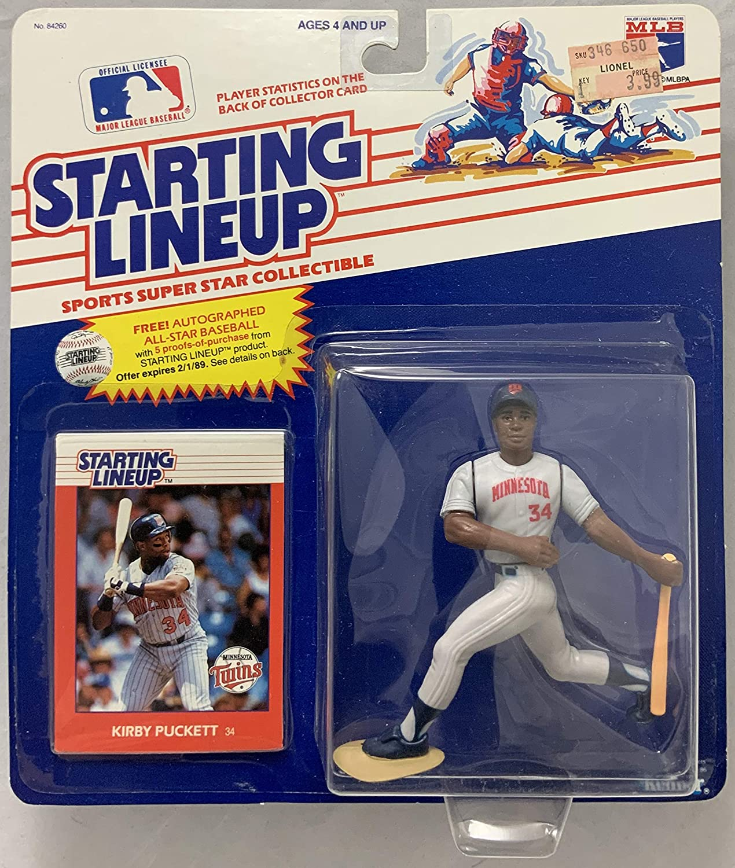 1988 KENNER STARTING LINEUP MLB KIRBY PUCKETT MINNESOTA TWINS MOC