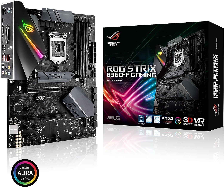 Asus Intel B360 ATX - Placa base gaming con Aura Sync RGB ...