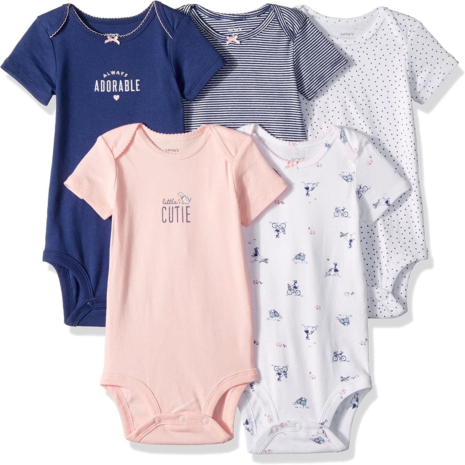 Girls/' 2 and 3 Pack TU Newborn Bodysuits New out of Pack