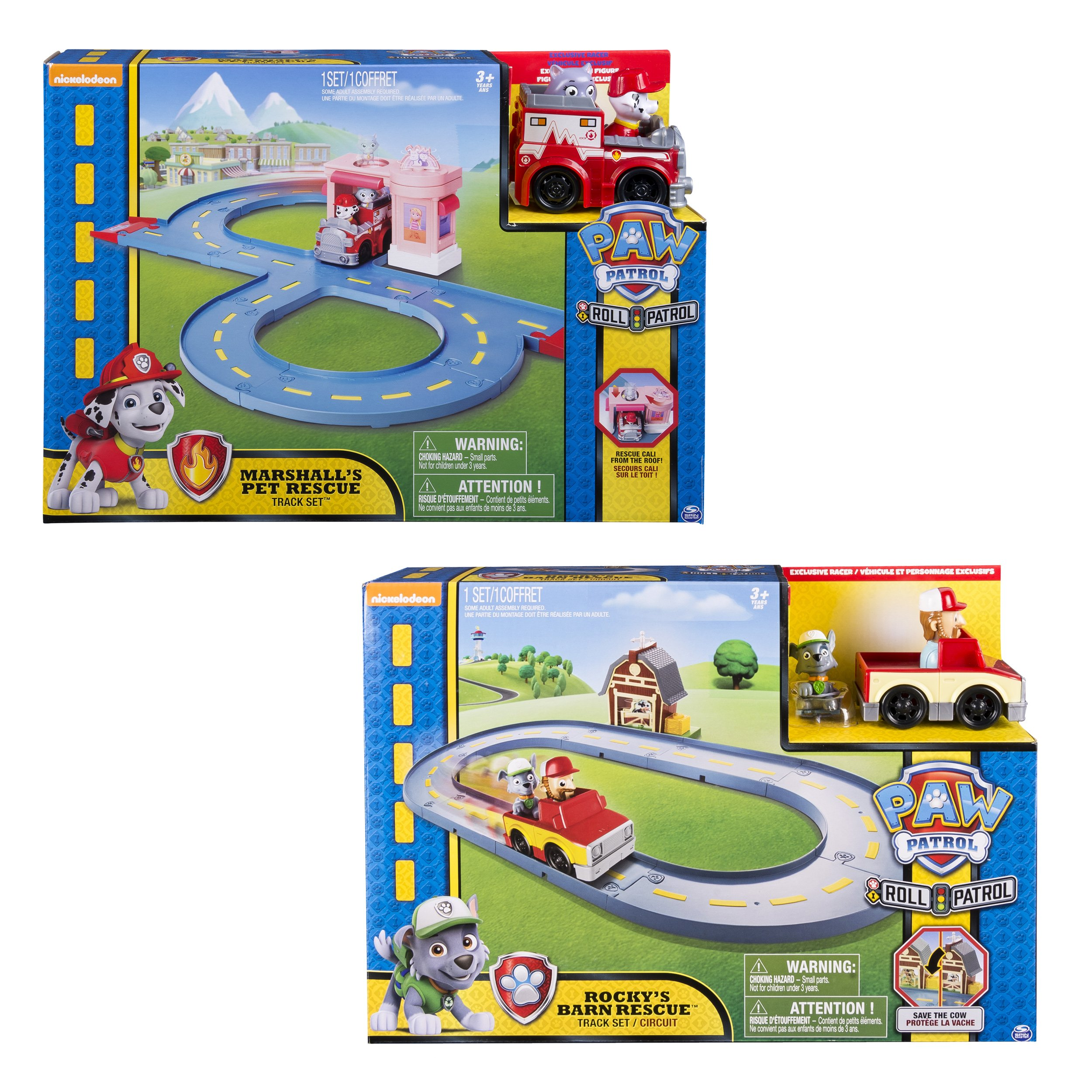 Paw Patrol Rocky's Barn Rescue Track Set (Assorted)