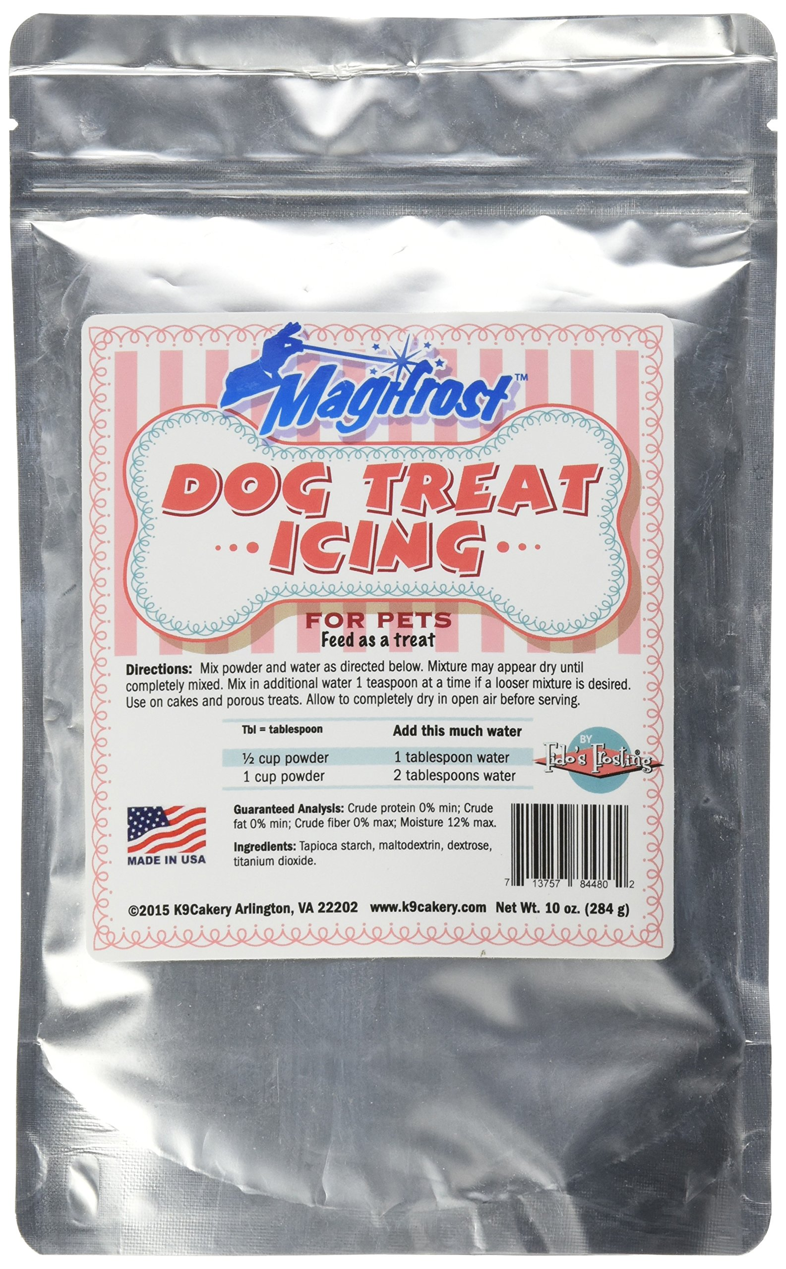 """K9Cakery Magi Frost Icing For Dog Treat, 9 By 6 By 3"""""""