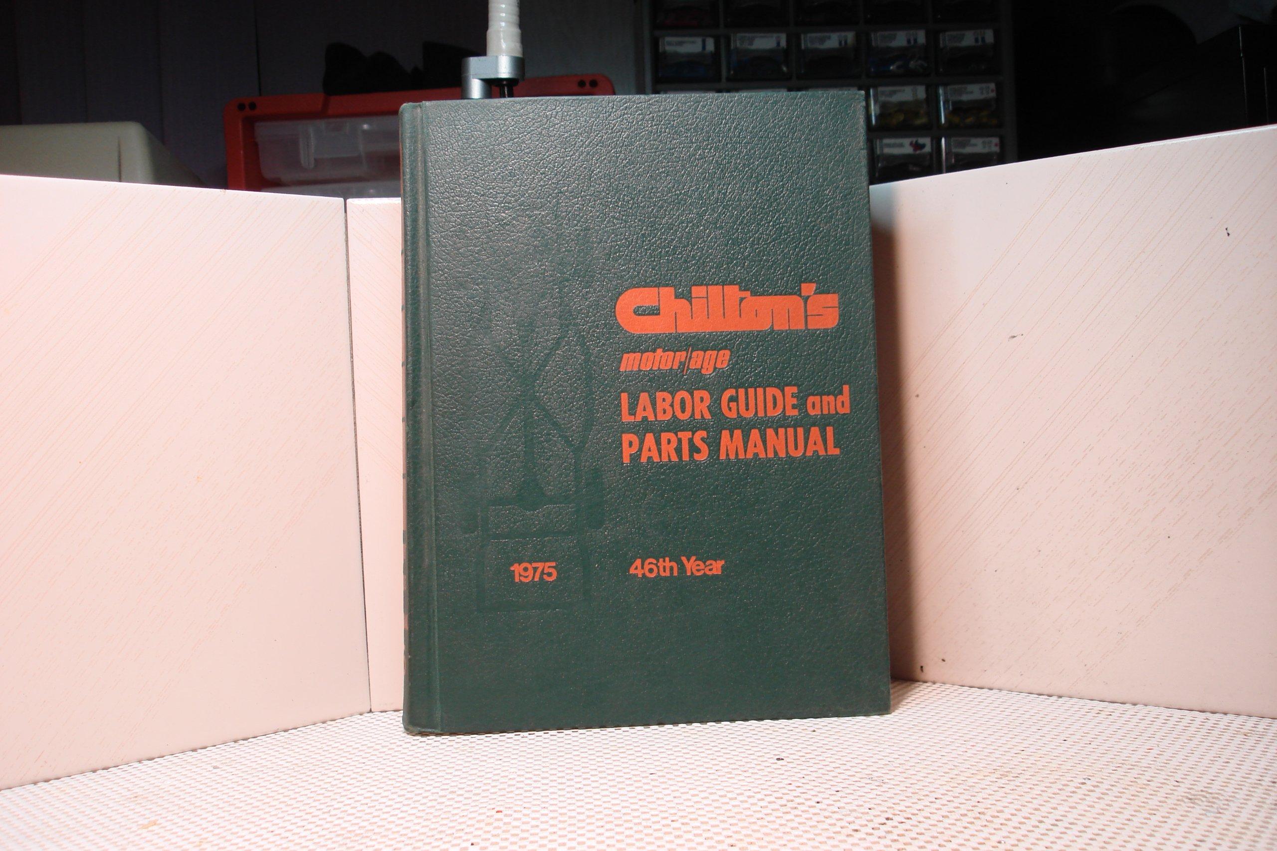 Motor Age Labor Guide and parts manual 1975: Chilton's: Amazon.com: Books