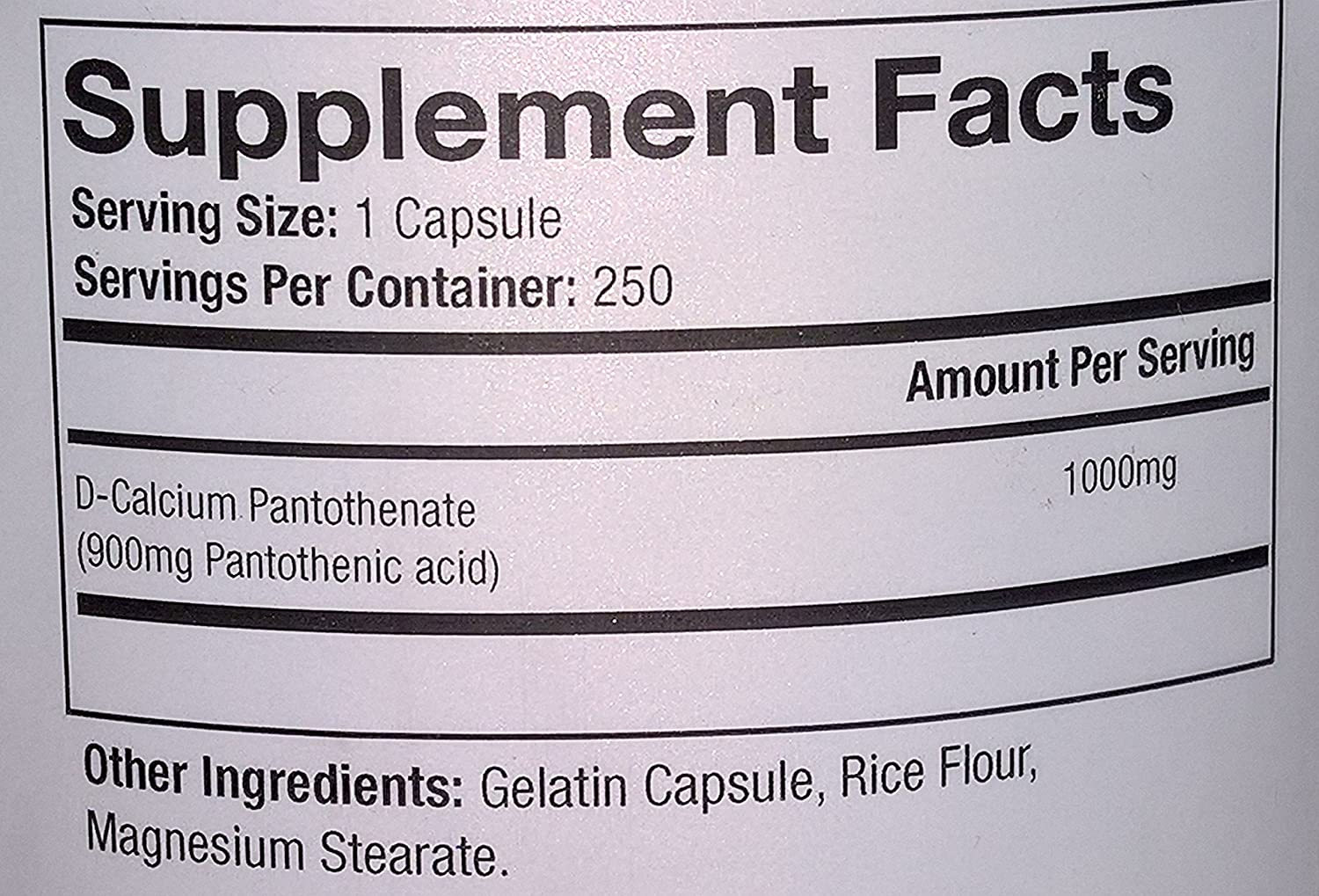 Calcium Pantothenate - instructions, side effects, price, reviews 27