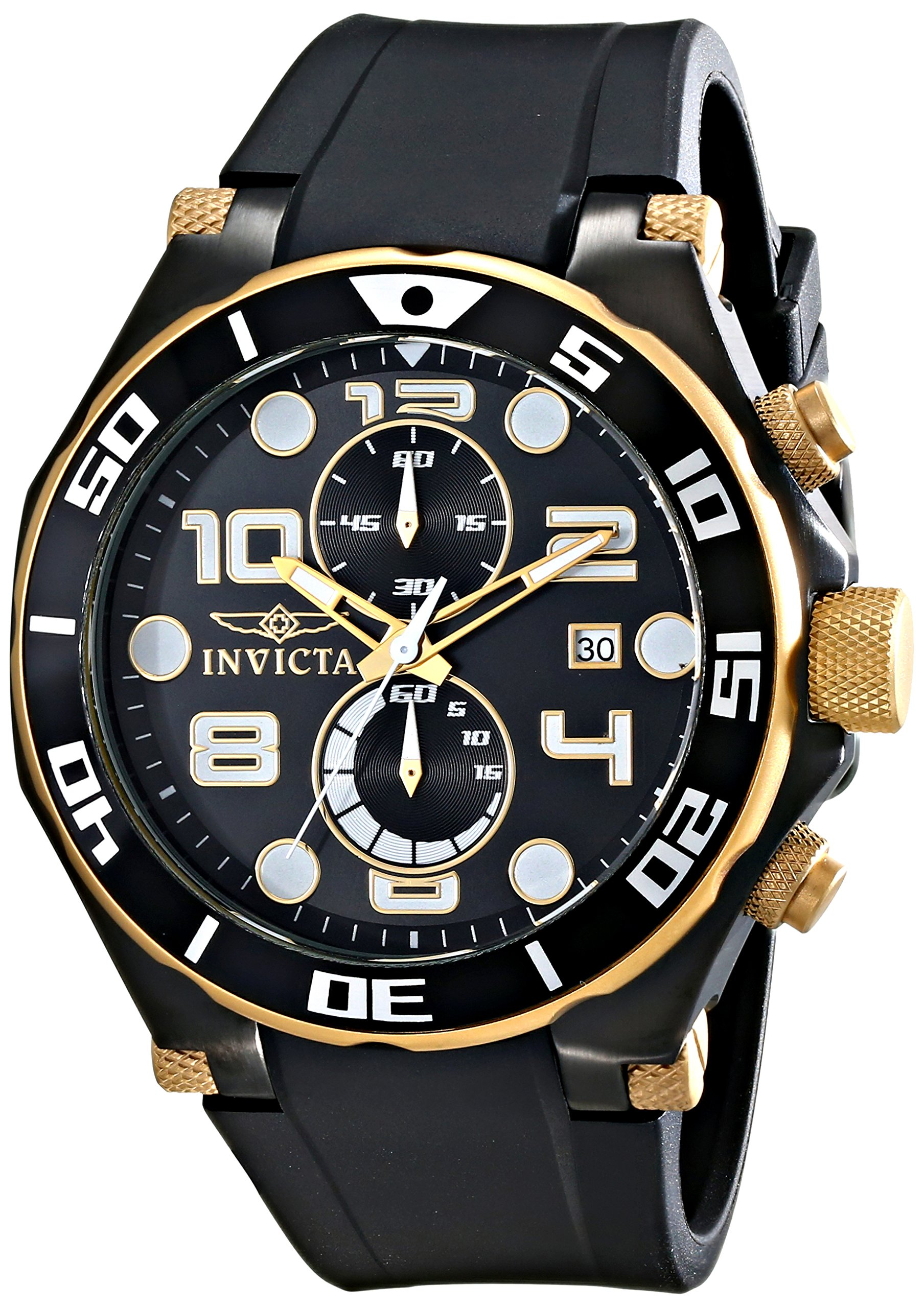 Invicta Men's 15396 Pro Diver Analog Display Quartz Black Watch