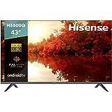 """Hisense 43"""" H5500G Android TV con Control de Voz (43H5500G, 2020) (Reacondicionado)"""