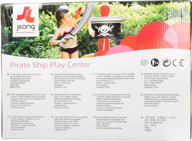 Jilong - (JL097201NPF -P100) Piscina para niños barco pirata ...