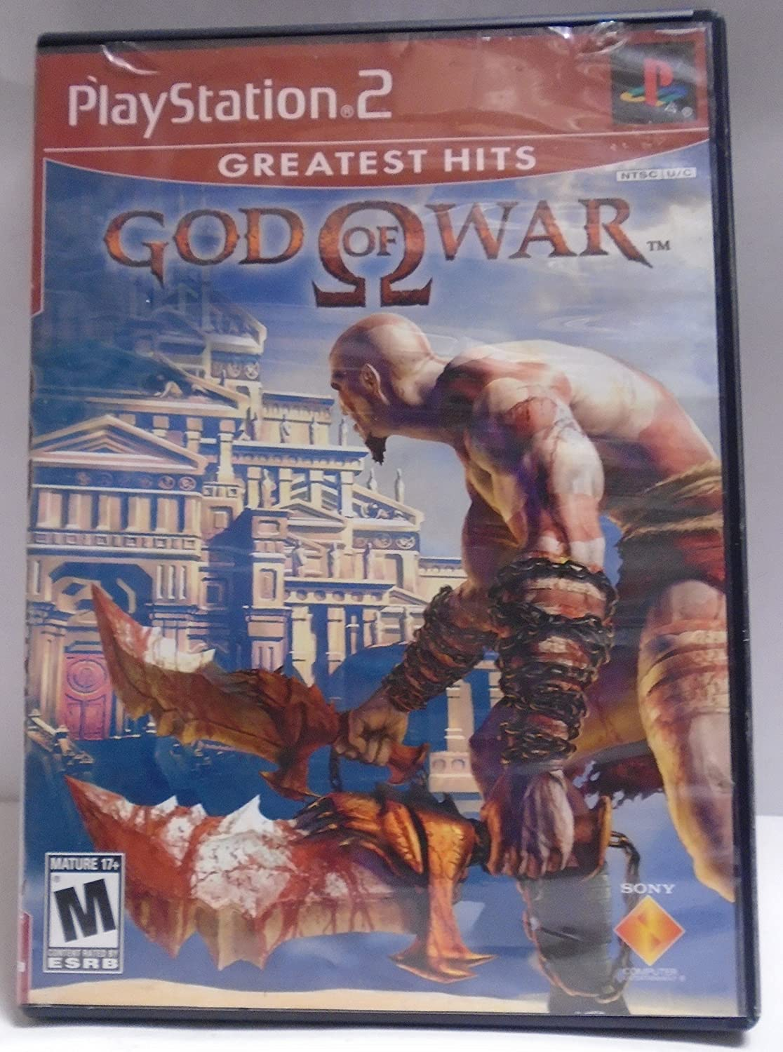 PS2 PLAYSTATION 2 GOD OF WAR -- GREATEST HITS
