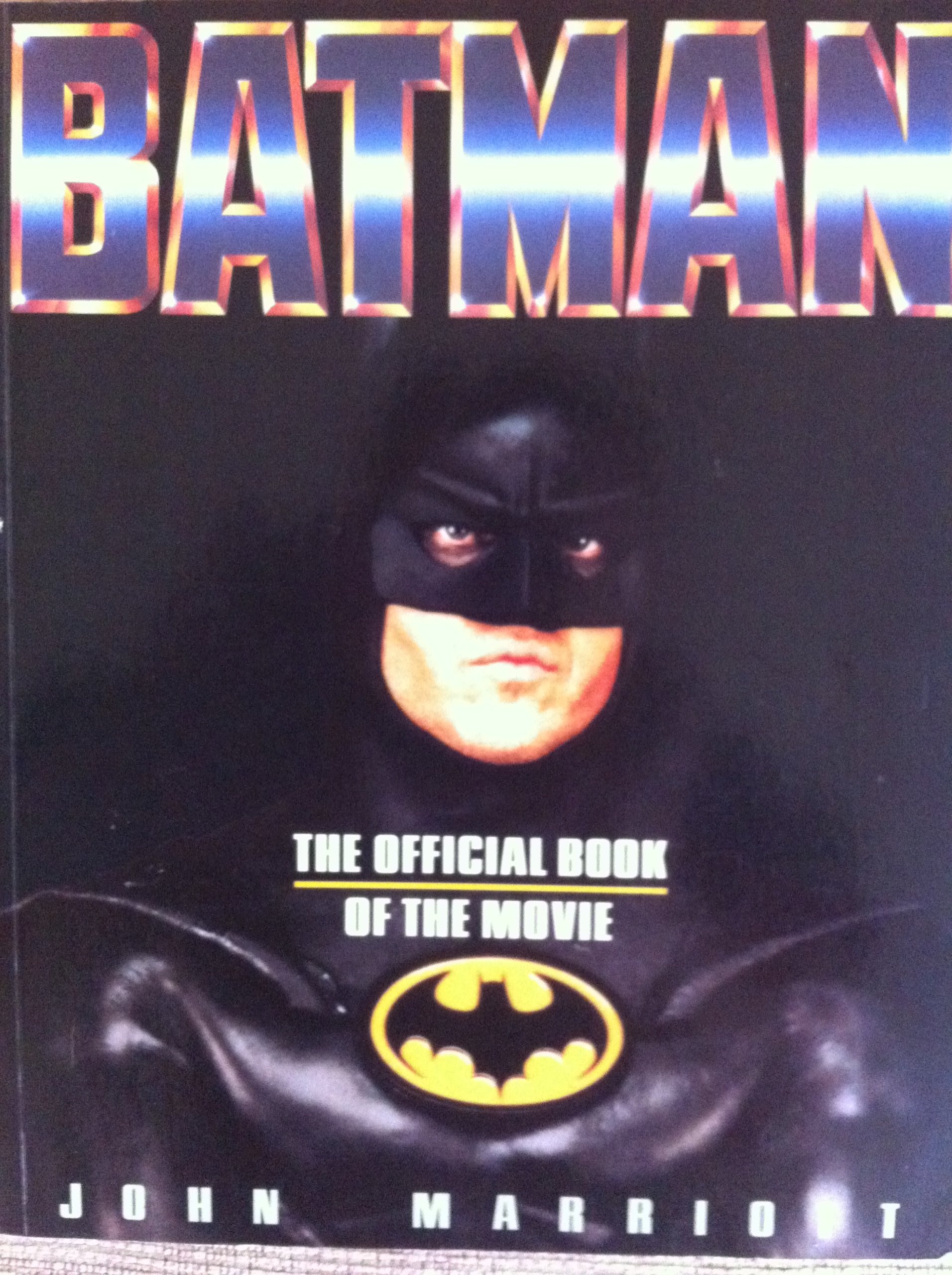 Batman: The Official Book Of The Movie: Amazon: Professor John  Marriott: 9780600565871: Books