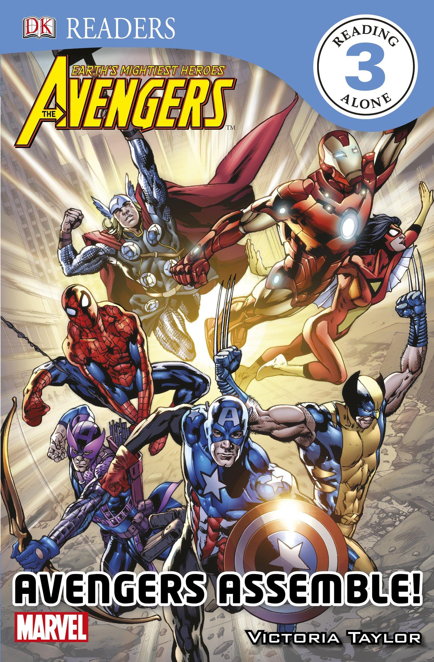 Download DK Readers L3: The Avengers: Avengers Assemble! PDF