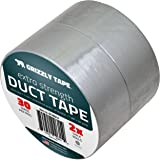 Grizzly Brand Professional Grade Duct Tape, Silver