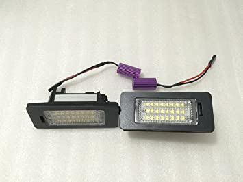 PLAFONES LED DE MATRICULA LUCES LED DE MATRICULA: Amazon.es: Coche y moto