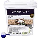 NortemBio Sal de Epsom 6 Kg, Fuente concentrada de Magnesio, Sales 100% Naturales