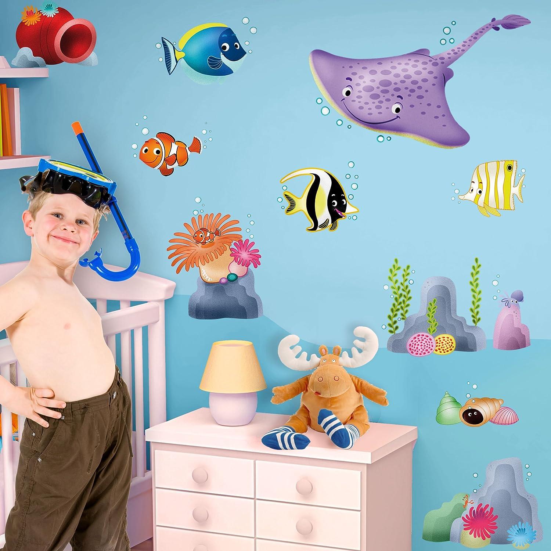 LeoStickers® - LeoKit start La Barriera Corallina: stickers murali ...