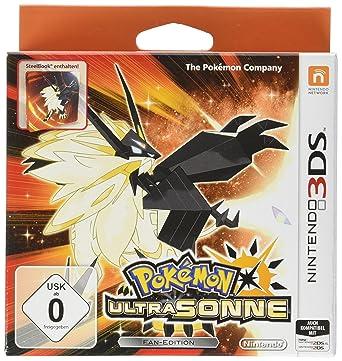 pokémon ultrasonne und ultramond ultra dual edition inkl. steelbook