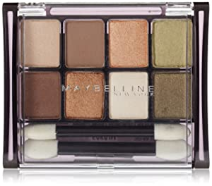 Maybelline New York Expert Wear Eyeshadow 8-Pan, Sunbaked Neutrals 10, 0.22 Ounce