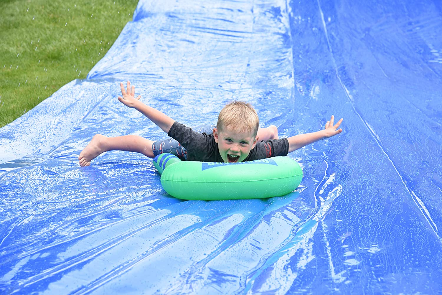 BACKYARD BLAST Heavy Duty Waterslide