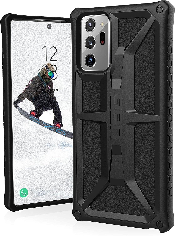 olive 6.9 Urban Armor Gear Civilian Funda para Samsung Galaxy Note20 Ultra 5G Designed for Samsung certificado, compatible con la carga inal/ámbrica, parachoques resistente choques