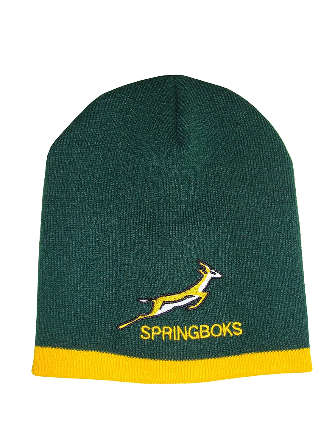 835bb9f5db1 South African Rugby Beanie Hat  Amazon.co.uk  Sports   Outdoors