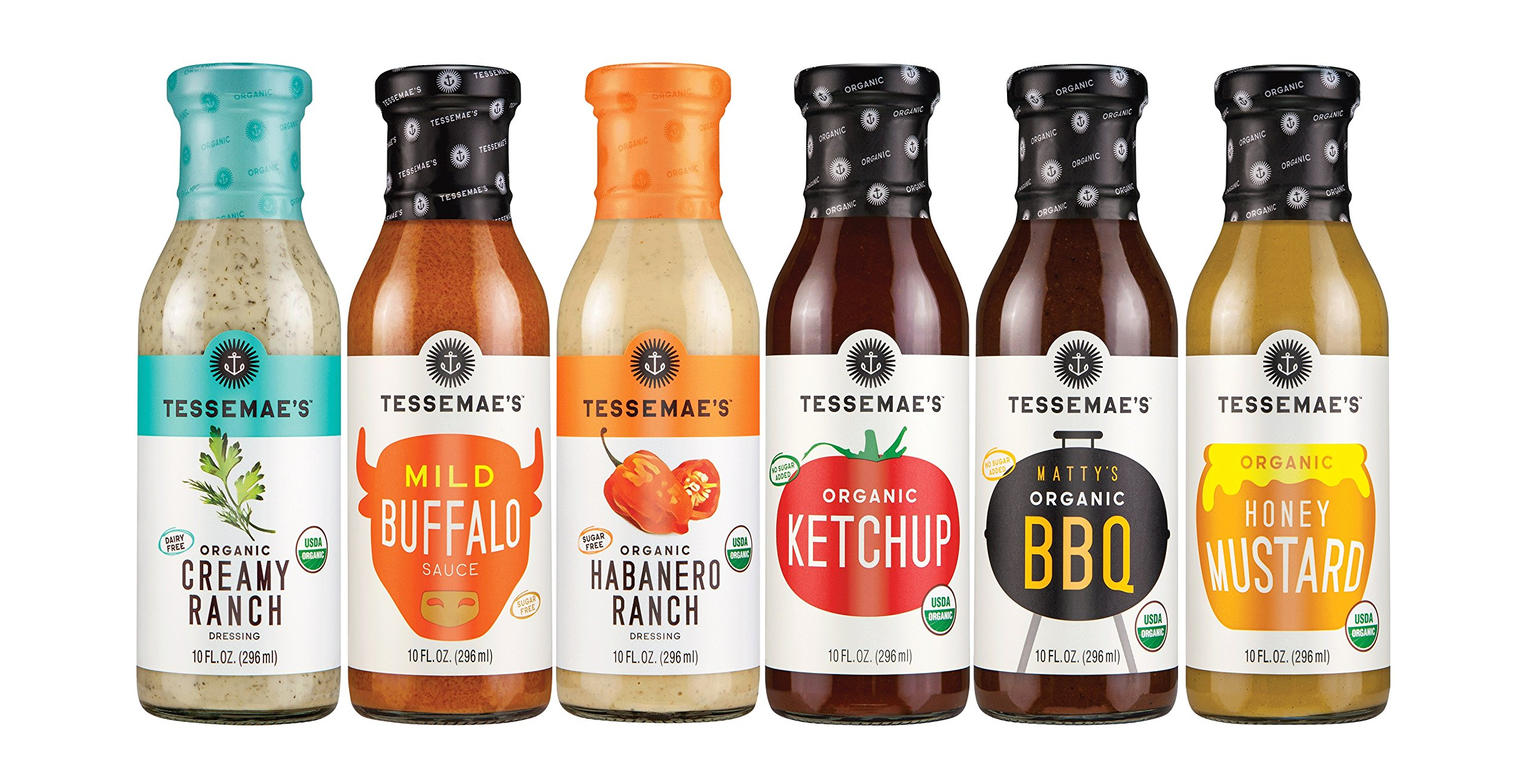 Tessemae's All Natural Summer Sauces Pack