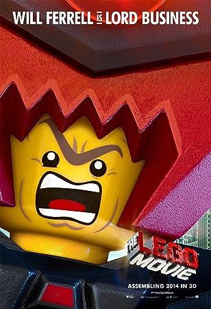 Amazon.com: The Lego Movie (2014) 24X36 Movie Poster (THICK ...