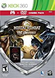 Mortal Kombat vs DC Universe - Silver Shield Combo Pack - Xbox 360