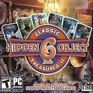 Hidden Object Classic Treasures II - 6 Great Games - Collectors Editions Included