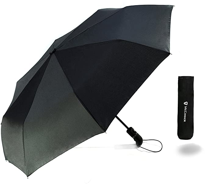 Travel Windproof Umbrella Auto Open Close - Strong and Lightweight