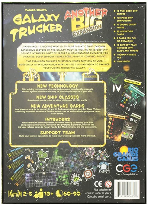734a36ea6b88e Galaxy Trucker Expansion  Another Big Expansion  Amazon.co.uk  Toys   Games
