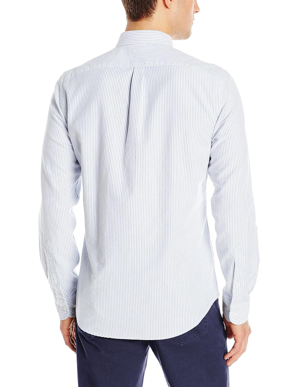 Amazon Goodthreads Mens Slim Fit Long Sleeve Striped Oxford