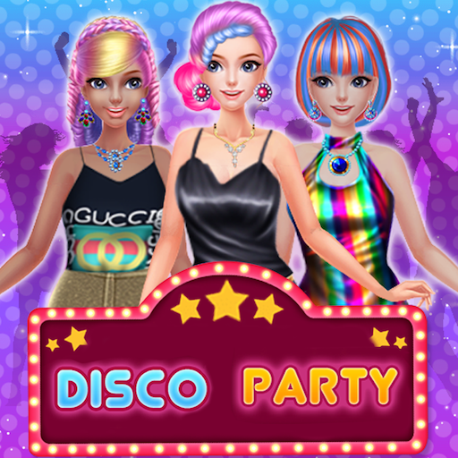 Disco Party Dancing Princess Games - Prom