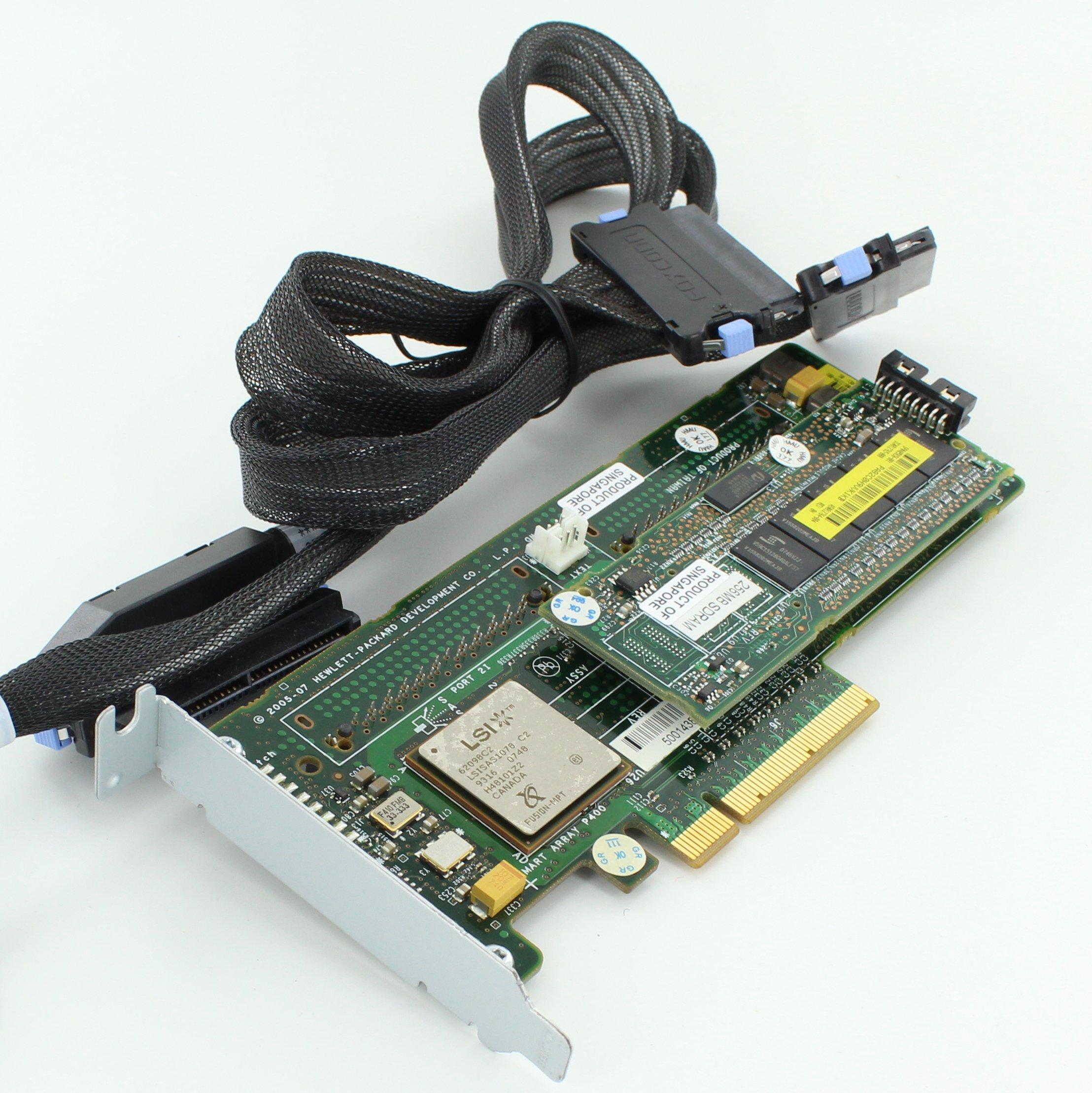 HP 405831-001 HP SMART ARRAY P400 SAS CONTROLLER aka(447029-001) (405831001) (Certified Refurbished)