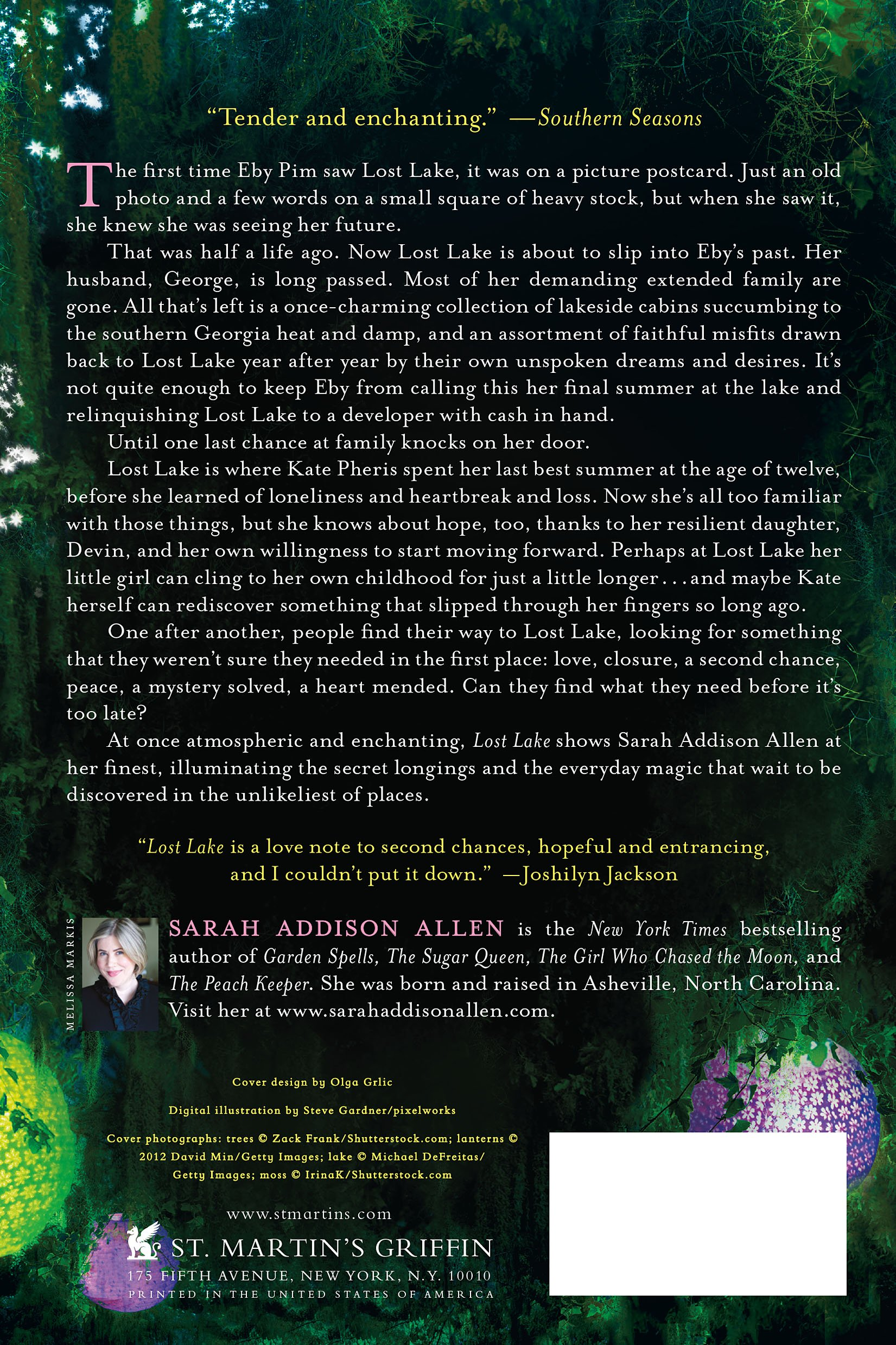 Lost Lake: A Novel: Sarah Addison Allen: 9781250019820: Amazon: Books