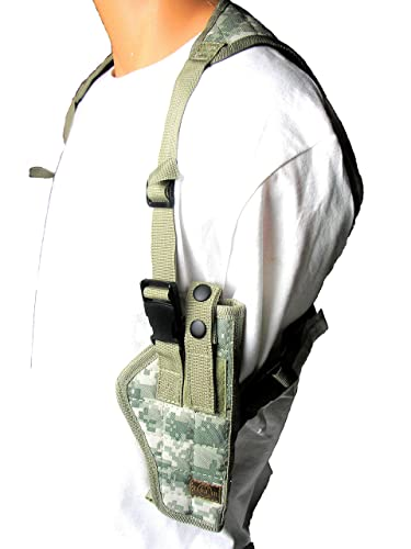 "Ambidextrous Camouflage ""Universal"" Vertical Shoulder Holster"