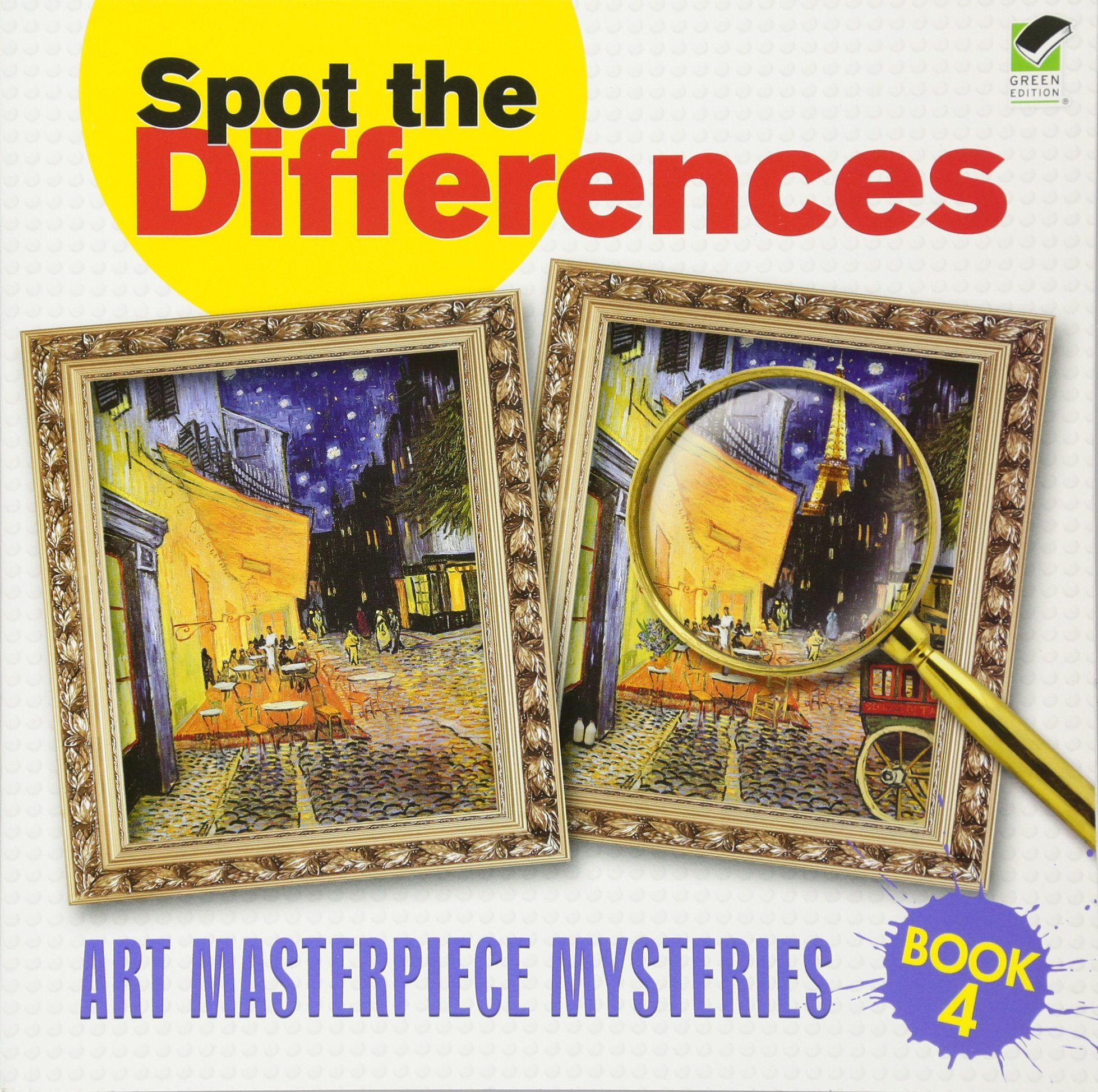 Spot the Differences Book 4: Art Masterpiece Mysteries (Dover Children's Activity Books)