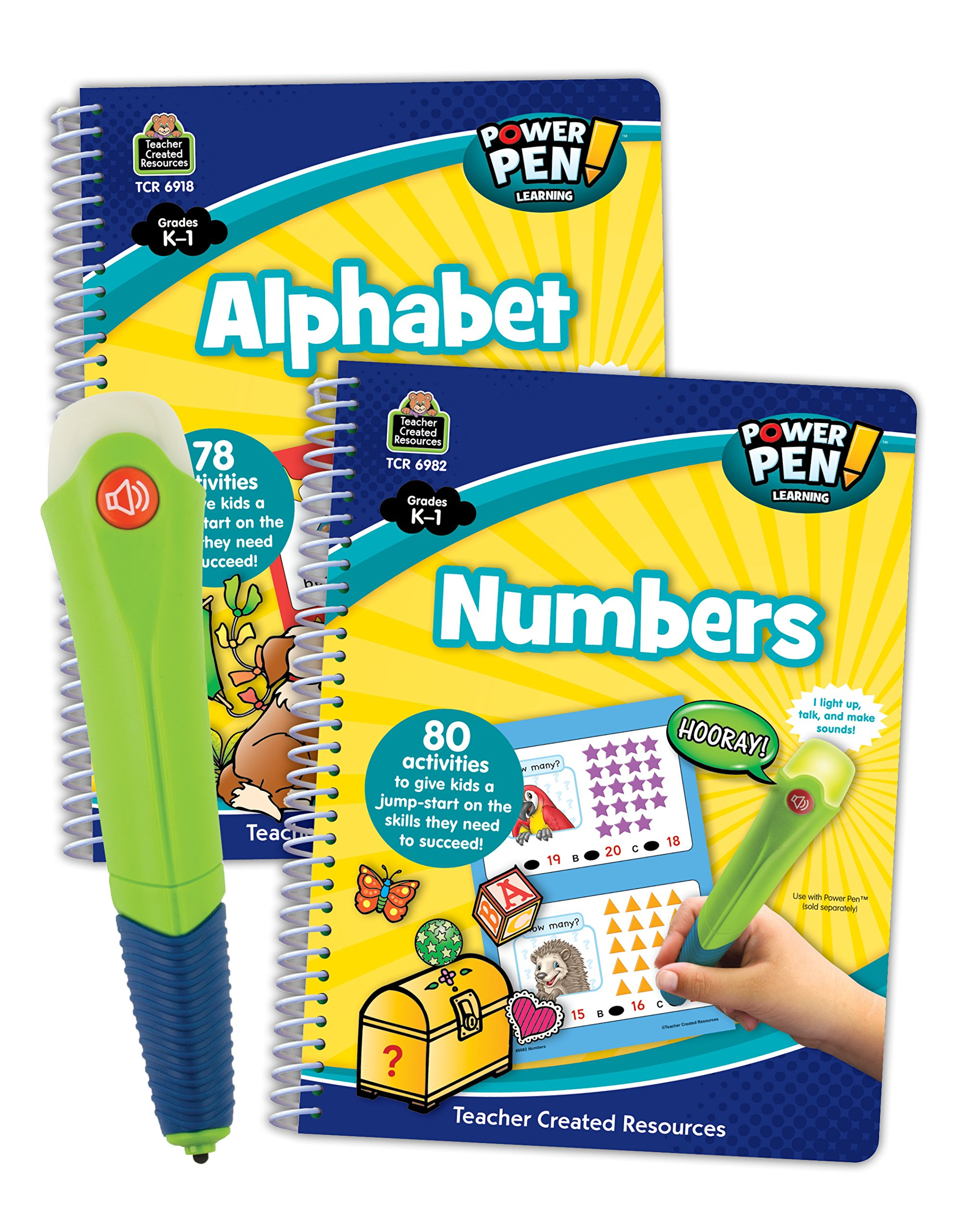 Power Pen & Learning Books Set 2-2 Book Set by Teacher Created Resources (Image #1)