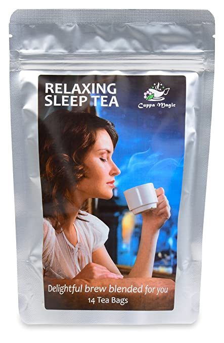 INSOMNIA, STRESS AND ANXIETY RELIEF - RELAX WITH THE BEST HERBAL TEA SLEEP AID