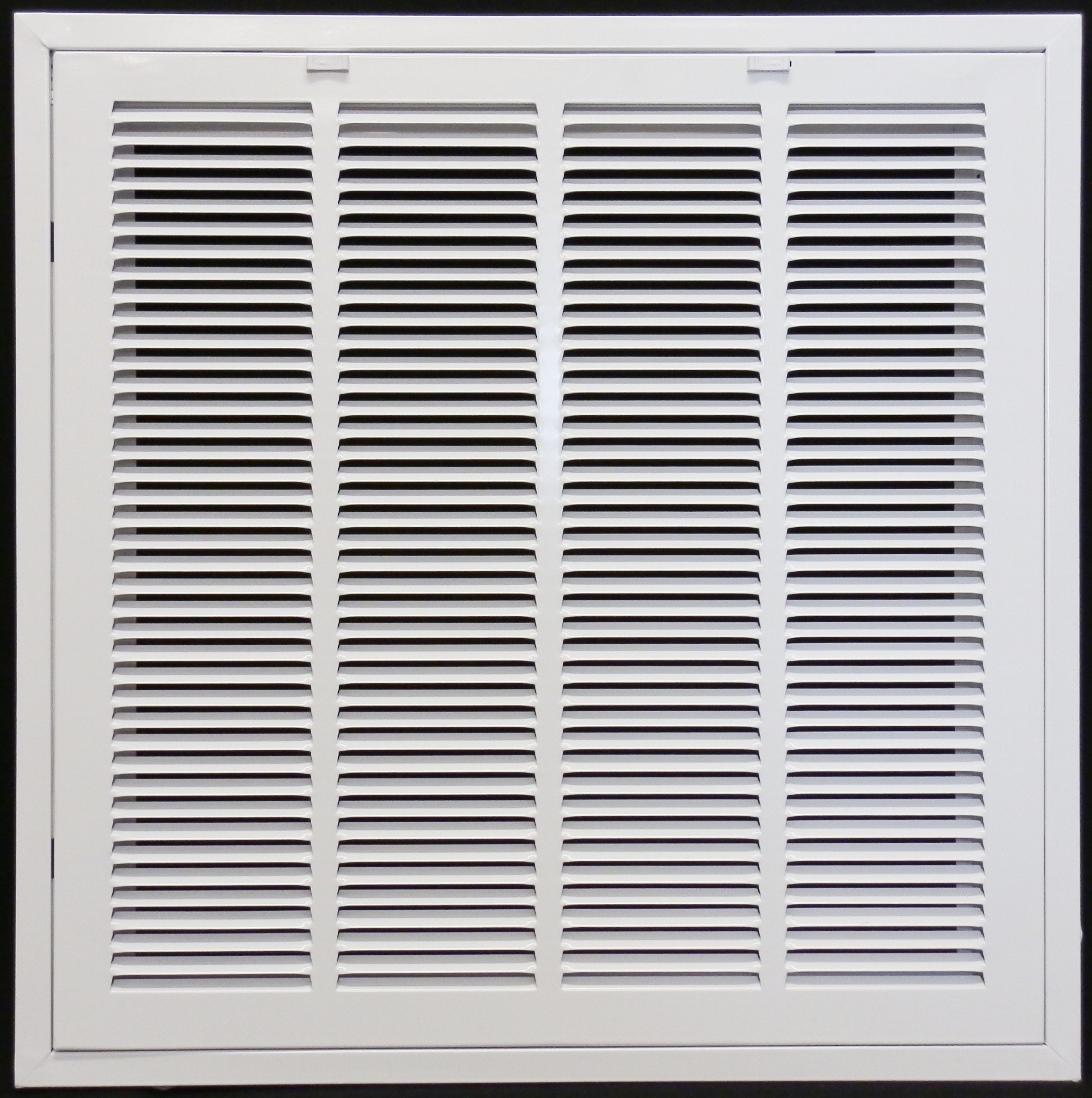 24'' x 24'' RETURN FILTER GRILLE for Drop Ceiling - Uses 20'' x 20'' Filter - Easy Access Door & Latch To Filter