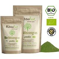 Weizengraspulver BIO (1kg) Weizengras Pulver aus aus deutschem Anbau in Rohkostqualität vom Achterhof