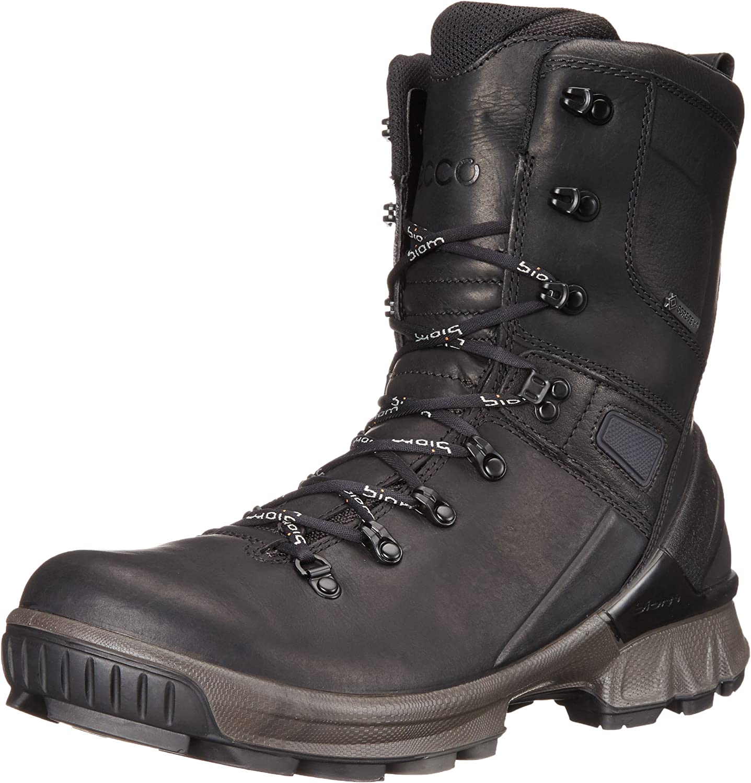 ecco police boots