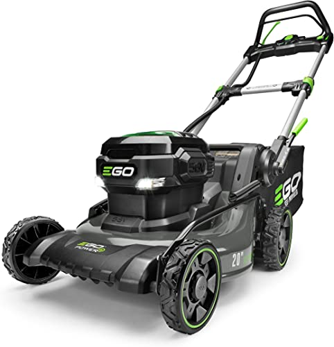 EGO Power LM2020SP 20-Inch 56-Volt Lithium-ion Brushless Walk Behind Steel Deck Self-Propelled Lawn Mower – Battery and Charger Not Included