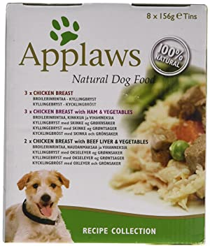 Applaws dog food tin multipack recipe selection 8x156g amazon applaws dog food tin multipack recipe selection 8x156g forumfinder Images