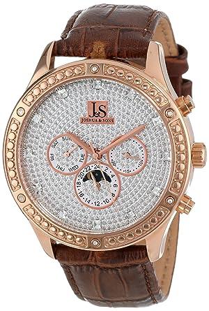 Men's Sparkling Function Js Rg Joshuaamp; Sons Watch Strap 41 Multi Mechanical 0PymOvnN8w
