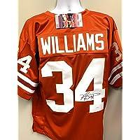 $99 » Ricky Williams Texas Longhorns Signed Autograph Custom Jersey JSA Certified