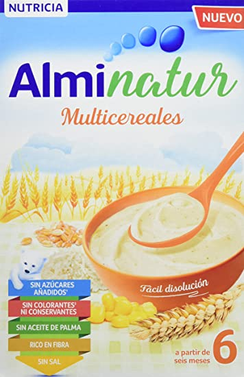 Alminatur Papilla de multicereales a partir de los 6 meses 250 g